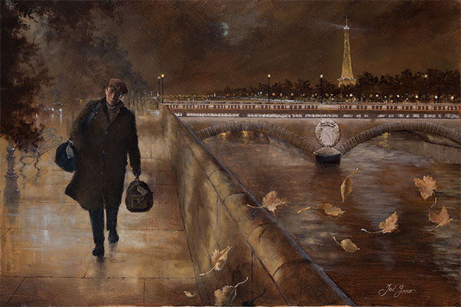 Ted Jones 'Leaving Paris'